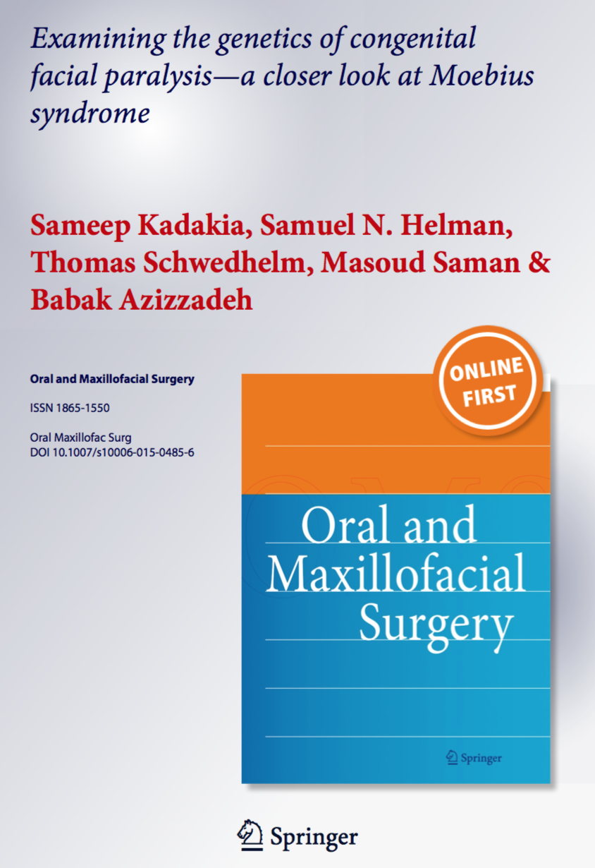 Oral and maxillofacial surgery journal