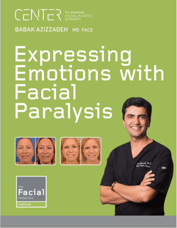 Expressing emotions with facial paralysis with Dr. Babak Azizadeh
